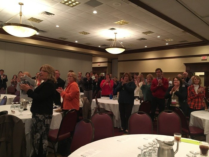 Standing Ovation For Tom Steenrod